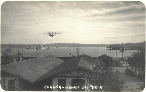 Dornier Do X en A Coruña